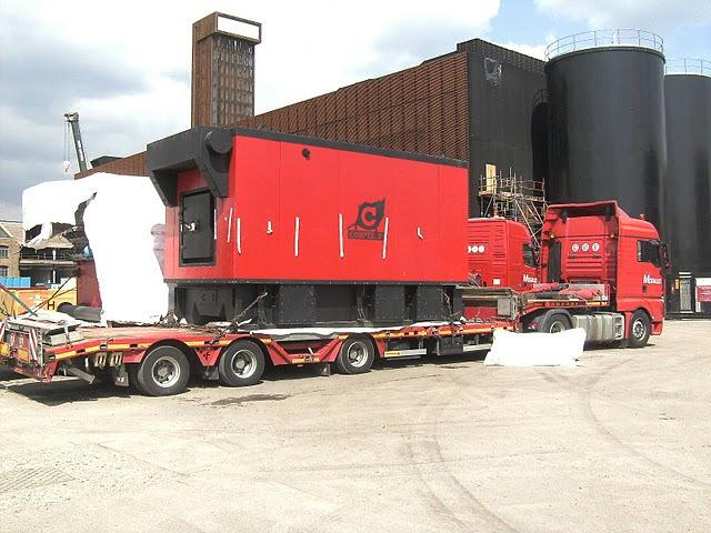 Delivery of Compte-R woodchip boiler for London Olympic Park